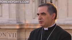 Abp Becciu krytykuje doniesienia o homo-lobby w Watykanie - miniaturka