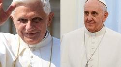 Franciszek: Benedykt XVI pomaga nam patrzeć w wieczność - miniaturka