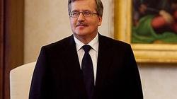 Bronisław Komorowski chce pomóc polskim rodzinom - miniaturka