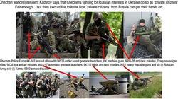 Krwawi najemnicy z Czeczeni walczą z Ukrainą. Na rozkaz Putina! - miniaturka