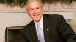 Człowiek z maczetą chciał zabić G. W. Busha. Został zatrzymany! - miniaturka