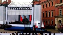 Komorowski i Obama przemawiają do Polaków - miniaturka