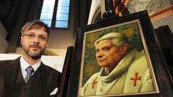Nawrócenie słynnego ateisty, który namalował portret Papieża Benedykta XVI - miniaturka