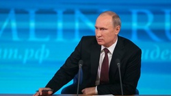 Putin w orędziu: Zachodni politycy są jak Hitler - miniaturka