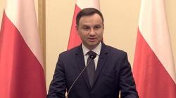 Prezydent Duda GASI dziennikarza Wyborczej - miniaturka