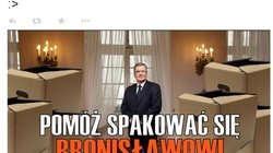 Pomóż spakować się Bronisławowi Komorowskiemu! - miniaturka