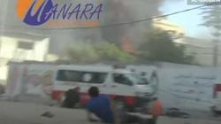 Izrael zabija coraz więcej cywili. Drastyczne video z ataku na bazar - miniaturka