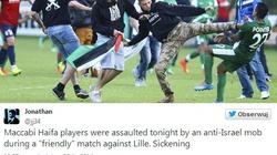 Szok. Palestyńscy kibice zaatakowali izraelskich piłkarzy - miniaturka