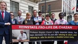 Międzynarodowa demonstracja w obronie prof. Chazana w Londynie! - miniaturka