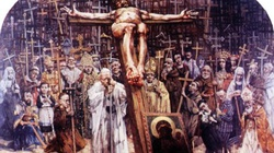To media krzyżują Chrystusa! Niesamowita Droga Krzyżowa wielkiego artysty Dudy-Gracza - miniaturka