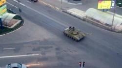 Rosyjskie czołgi wjechały na Ukrainę - miniaturka
