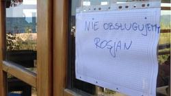 """Rosjanie o akcji """"Nie obsługujemy Rosjan"""" - miniaturka"""