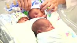 Urodziła trojaczki. Bóg odwiódł ją od aborcji - miniaturka