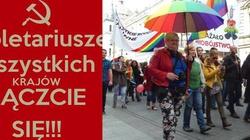 Geje i Lesbijki łączcie się !!!KOD maszeruje w Łodzi! - miniaturka