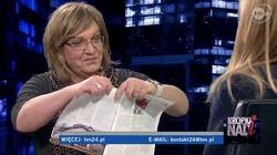 """Anna Grodzka podarła u Moniki Olejnik tygodnik """"W sieci"""" - miniaturka"""