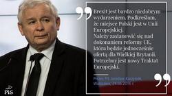 Jarosław Kaczyński - współczesny Piłsudski Europy! - miniaturka