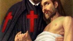 Księża z czerwonymi krzyżami - miniaturka