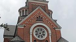 Pożar kościoła św. Wojciecha. Runęła zabytkowa wieża - miniaturka