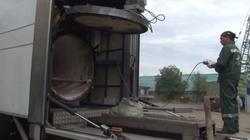 Rosja spala swoich zabitych żołnierzy w jeżdżącym krematorium! ZOBACZ FILM! - miniaturka