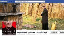Parafianie murem za ks. Lemańskim. Zawieźli do kurii ponad 1300 podpisów w obronie kapłana  - miniaturka