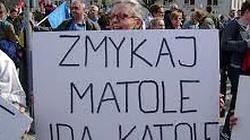 Dziś protest w obronie dyskryminowanej przez KRRiT Telewizji Trwam! - miniaturka