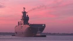 Francja nie sprzeda Rosji Mistrali. Zatopi okręty? - miniaturka