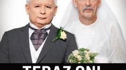 Kaczyński i Korwin-Mikke jako polityczne małżeństwo – kolejna manipulacja Newsweeka   - miniaturka