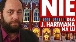 Już blisko 18 tys. osób chce usunięcia Hartmana z UJ! - miniaturka