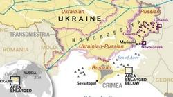 """Noworosja już istnieje! Na mapie """"National Geographic"""" - miniaturka"""