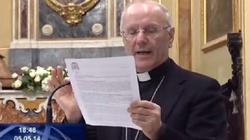 """Sekretarz episkopatu Włoch: Kościół dyskryminuje """"niekonwencjonalne"""" pary - miniaturka"""
