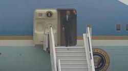 Barack Obama przyleciał do Polski - miniaturka