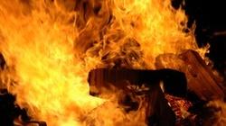 Dramat! Oblał rodzinę benzyną i podpalił! - miniaturka