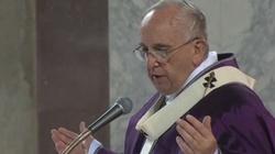 Papież: Otwórzmy się na miłosierdzie, odrzućmy obłudę - miniaturka