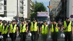 Parada Sodomitów. Najwięcej braw dostał Andrzej... obrońca krzyża. Spisywanie kibiców Legii, protest NOP. Zobacz fotoreportaż - miniaturka