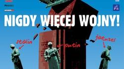Demonstracja antywojenna w Warszawie - miniaturka