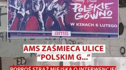 """AMS zaśmieca ulice """"Polskim G..."""" - zareaguj! - miniaturka"""