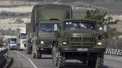 Interfax Ukraina: Rosyjskie transportery opancerzone przekroczyły granicę z Ukrainą  - miniaturka