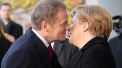 Cuda, cuda ogłaszają! Tusk krytykuje... Angelę Merkel! - miniaturka