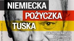 Czy Niemcy sfinansowały partię Donalda Tuska? - miniaturka