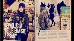 SKANDAL! Kolorowa gazetka pisze o modzie na Majdanie - miniaturka
