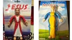 Giętki Jezus, Giętka Maryja jako laleczka dla dzieci - miniaturka