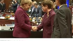 Dwie przywódczynie Europy! Merkel i Szydło pozują do zdjęć! - miniaturka