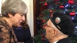 Piękne przemówienie premier May do polskich żołnierzy - miniaturka