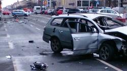 W Berlinie eksplodował samochód z kierowcą w środku - miniaturka
