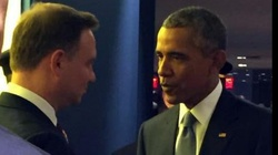 """Spotkanie Duda-Obama w kuluarach. """"Kwestia Ukrainy niezwykle ważna"""" - miniaturka"""