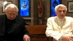 Ks. Georg Ratzinger: modlę się o dobrą śmierć dla mnie i mojego brata - miniaturka