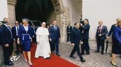 Papież na Wawelu. Przemówienie A. Dudy i Franciszka - miniaturka
