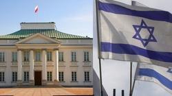 Belweder OSTRO ocenia postawę Izraela - miniaturka