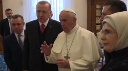 Przełomowe spotkanie. Islamista Erdogan u papieża - miniaturka