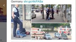 Znowu atak uchodźcy w Niemczech! Zabił kobietę maczetą - miniaturka